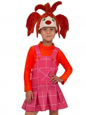 Лиза (Барбоскины) (шапочка, сарафан, кофта) XS
